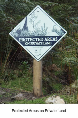 Protected Areas on Private Land at Base Camp Tasmania New Norfolk