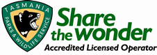 Tasmania Parks and Wildlife Accredited Licensed Operator