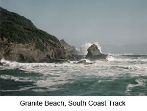 Granite Beach South Coast Track Walking Tour Tasmania