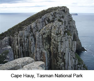 See Tasman National Park Cape Hauy on Tasman Coastal Trail Walk