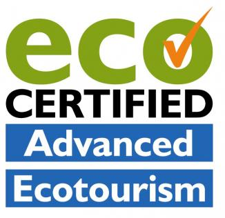 Eco certified advanced ecotourism