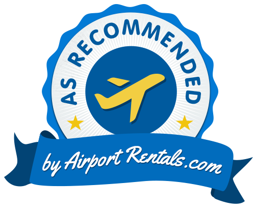 As Recommended by AirportRentals.com